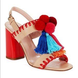 Central dress sandals